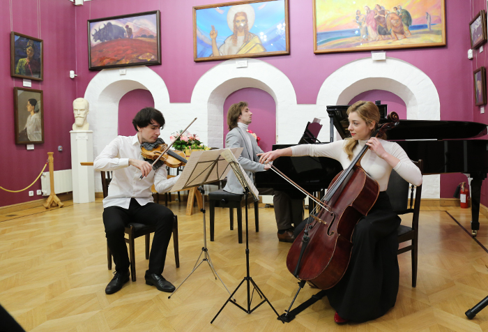 "The  ""Ensemble of the Moscow Conservatory"" trio"