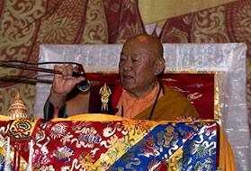 Церемония принятия великих обетов бодхисаттвы из традиции Дрикунг Тукдже Ченмо