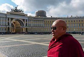 Его Святейшество Четсанг Ринпоче в Санкт-Петербурге