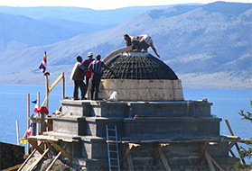 Александр ИВАНОВ «Буддийская святыня на Байкале»