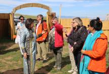 Посещение «Бурятской деревни» на острове Ольхон и встреча с главным шаманом острова